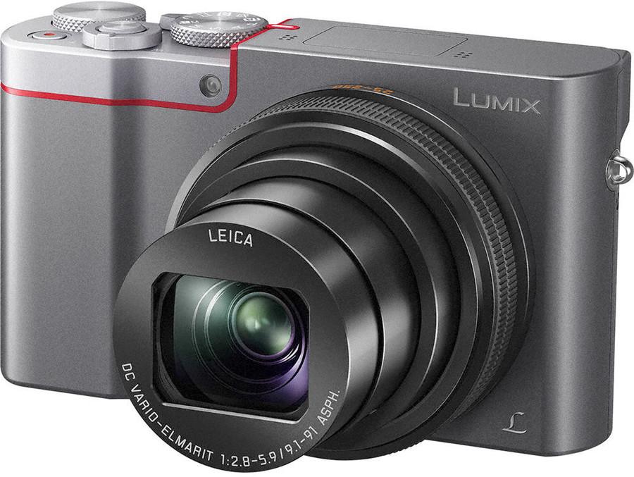 Aparat Panasonic Lumix DMC-TZ100 (srebrny)