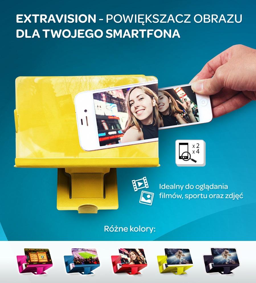 Powiększacz ekranu Extravisions Carrefour 7/10zł