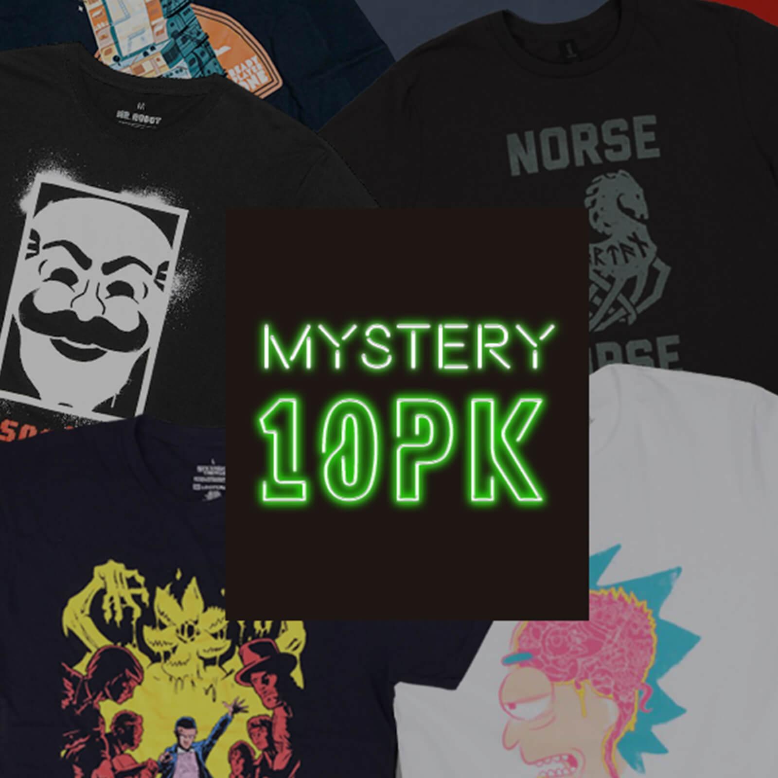 10 Koszulek z motywami z filmów za $39.99