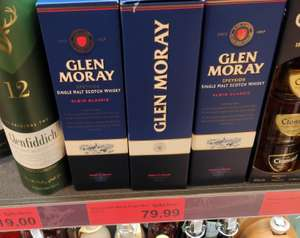 Whisky Single Malt Glen Moray Elgin Classic 0,7