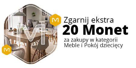 Allegro, +20 Monetprzy zakupach od 350 zł w kategoriach Meble, Pokój dziecięcy