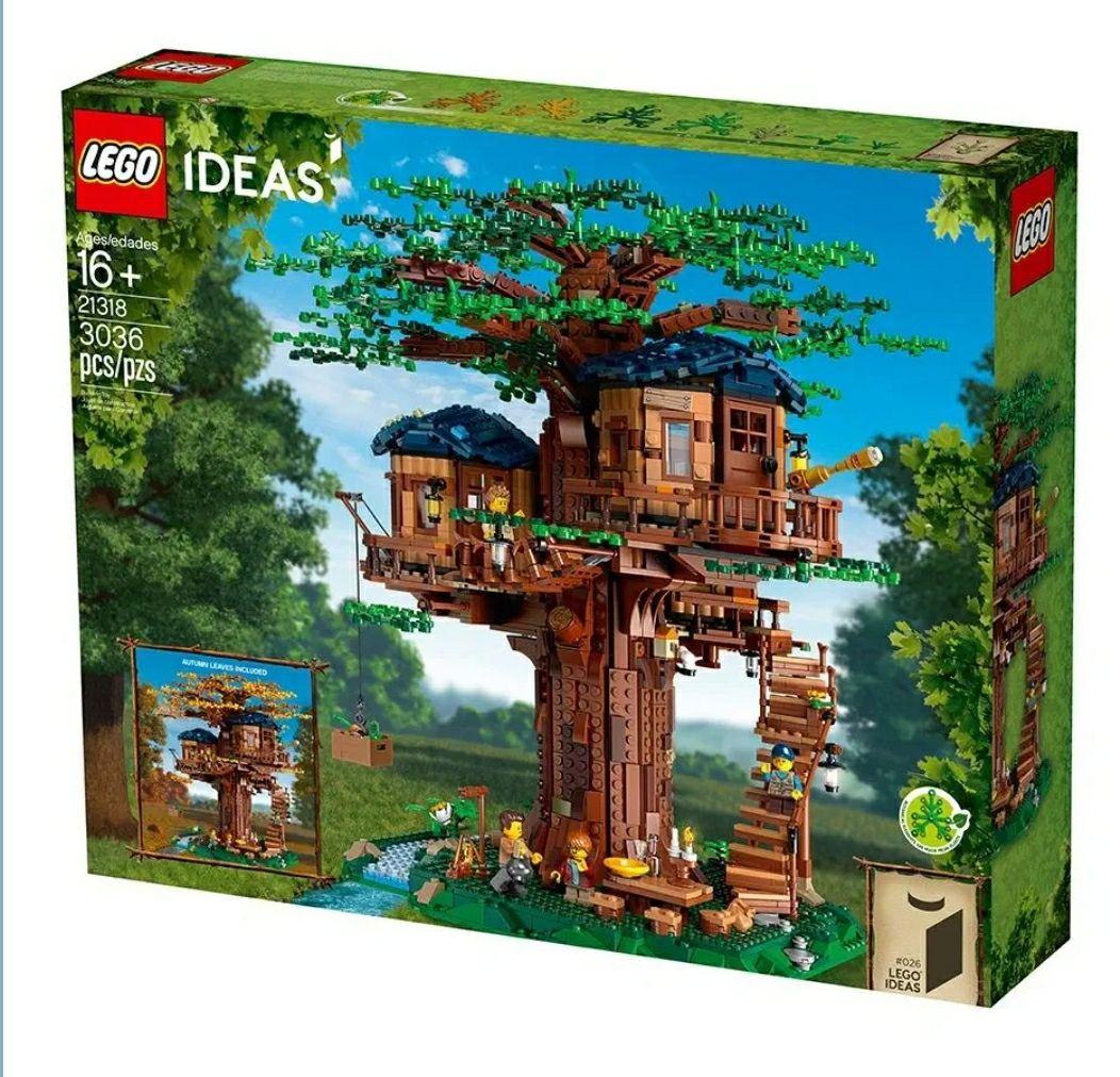 Lego Ideas Domek na drzewie 21318 Mall.pl