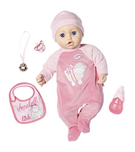 Lalka Zapf Baby Born Baby Anabelle 43cm dziewczynka (45,99E-6,9E z kuponu)