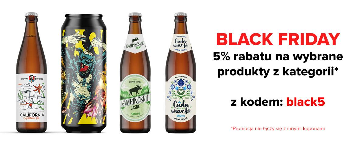 Zbiorcza oferta na piwa kraftowe (black week, cyber Monday)
