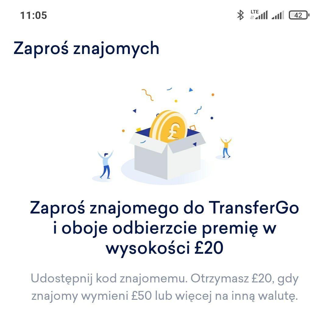Transfergo. zaproś znajomego,on zrób przelew na 270 zł i dostaniecie po 100 zl