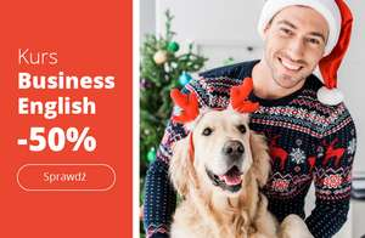 eTutor Business English na rok o 50% tańszy