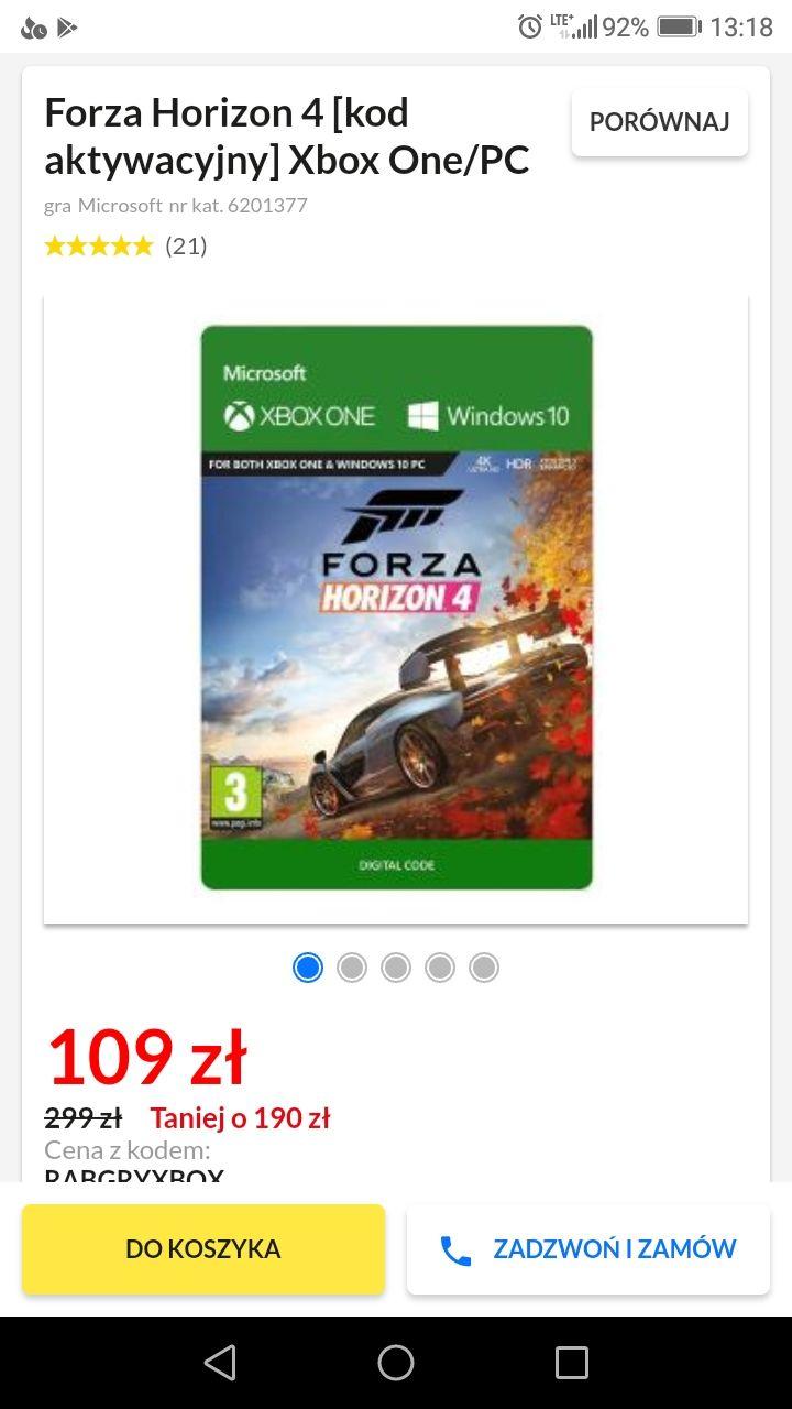 Forza Horizon 4 PC/XBOX