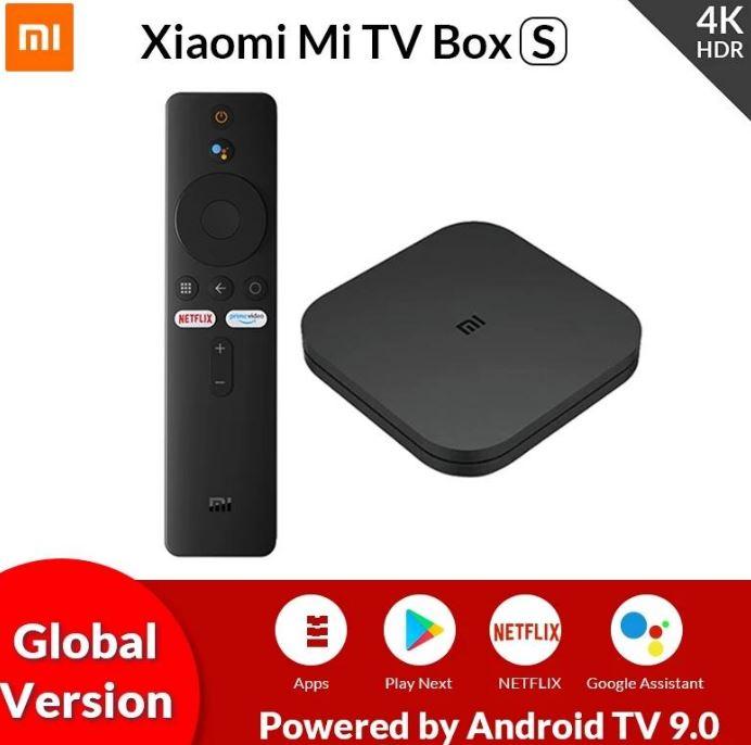 XIAOMI Mi Box S 4K Android TV @DHgate $38.83