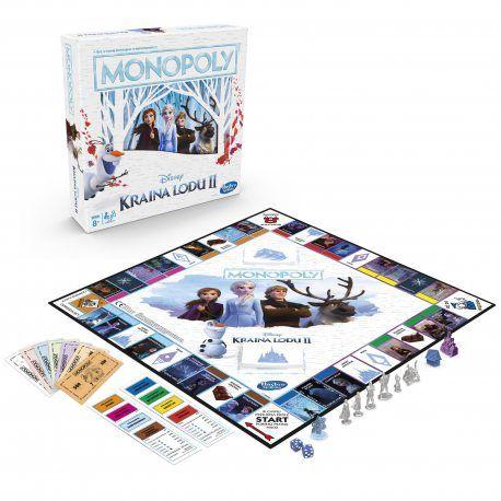 Gra planszowa Monopoly FROZEN II - darmowa dostawa dla zalogowanych