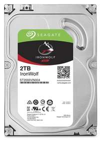 """Dysk HDD Seagate 3.5"""" IronWolf 2TB 5900T-NAS (ST2000VN004) *2691"""