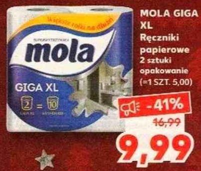 Ręczniki papierowe 2szt. MOLA giga XL w Kaufland