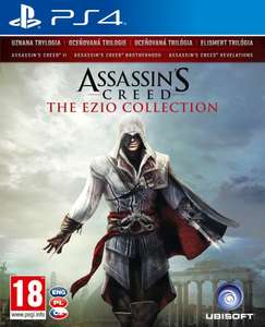 ASSASSIN'S CREED THE EZIO COLLECTION PS4 PlayStation 4 + 4 MONETY