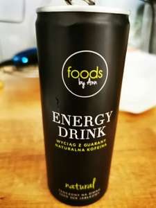 Energy Drink foods by Ann