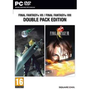 Final Fantasy VII/VIII Double Pack Edition na PC za 64,99zł @ Konsoleigry