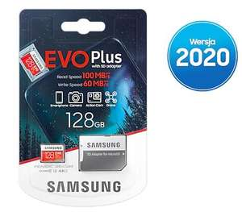 Karta pamięci microSD (SDXC) Samsung 128 GB (Allegro- OleOle.pl) Darmowa dostawa ze SMART'em!
