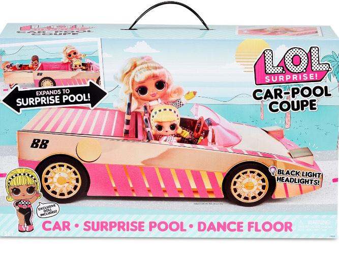 Allegro LOL Car Pool Coupe auto z basenem i lalką
