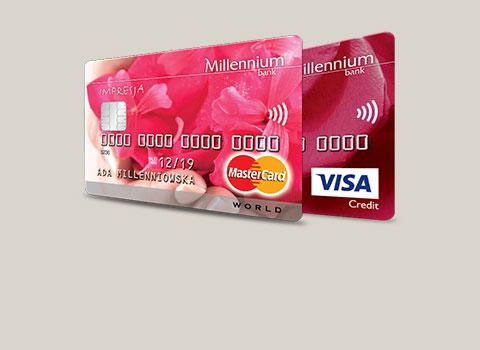 Możliwe do zdobycia 200zł w EMPIKu za wyrobienie karty kredytowej MILLENIUM.