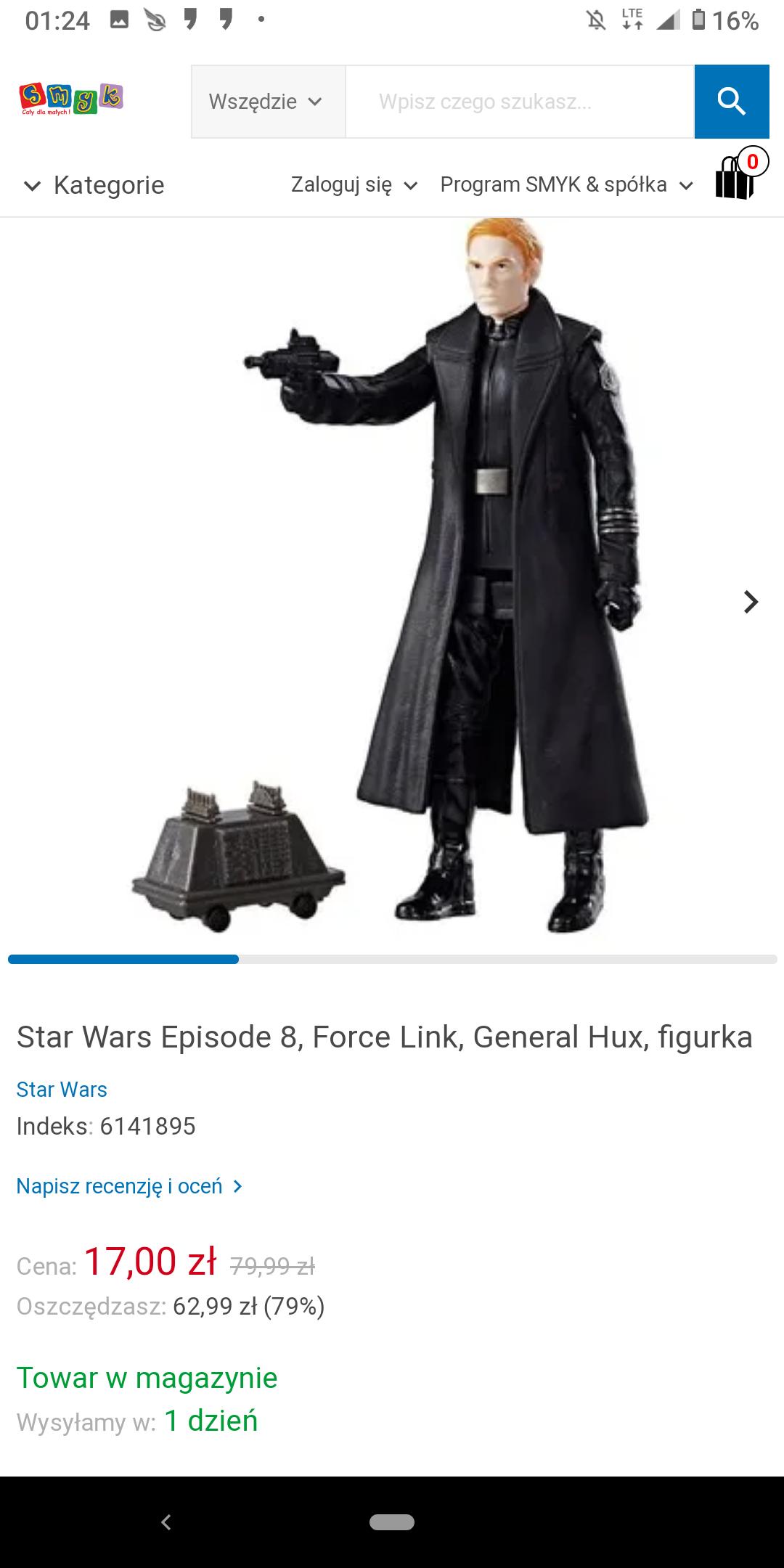 Star Wars figurki Force Link