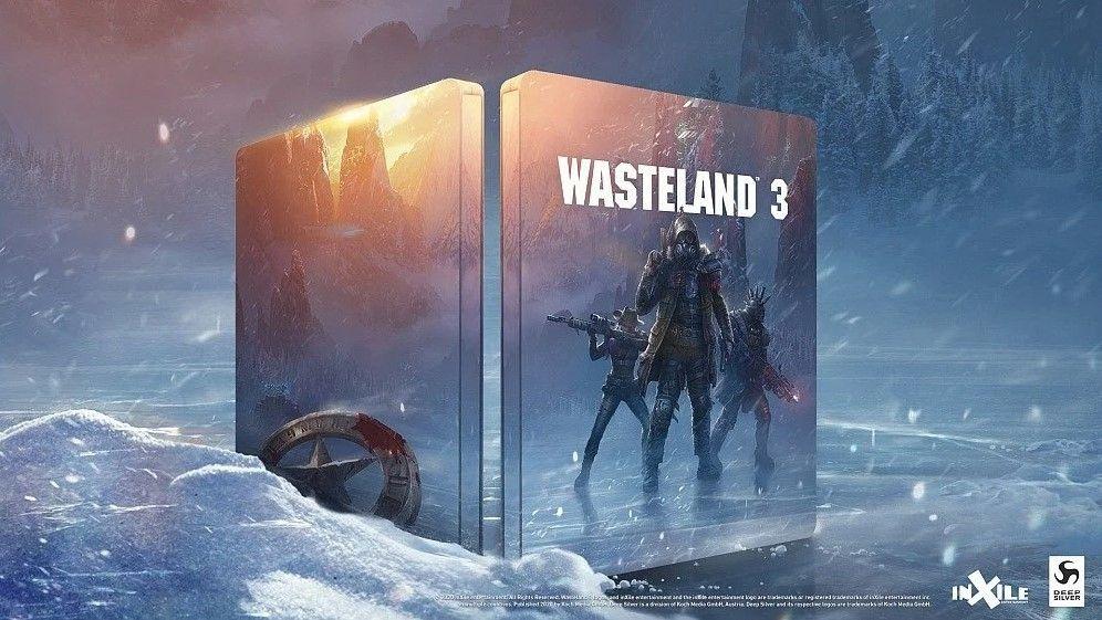 Steelbook z Wasteland 3 za 98 groszy w Media Markt