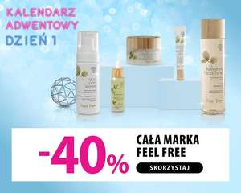 Feel Free -40% hebe.pl