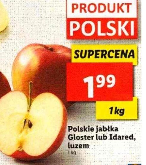 Jabłka po 1.99zł/kg w Lidl