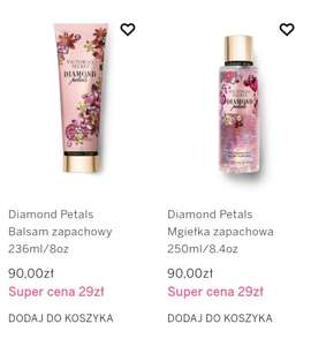 Wybrane mgiełki i balsamy na Victoria's Secret