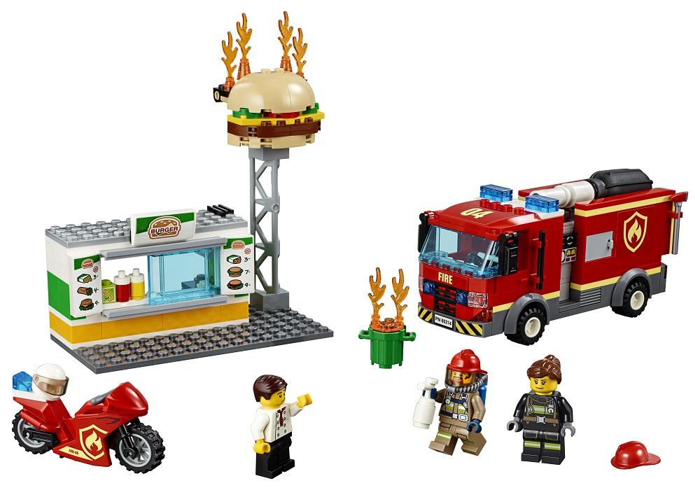 LEGO City, klocki Na ratunek w płonącym barze, 60214 - empik stacjonarnie