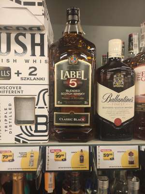 Whisky Label 5 2L @Netto
