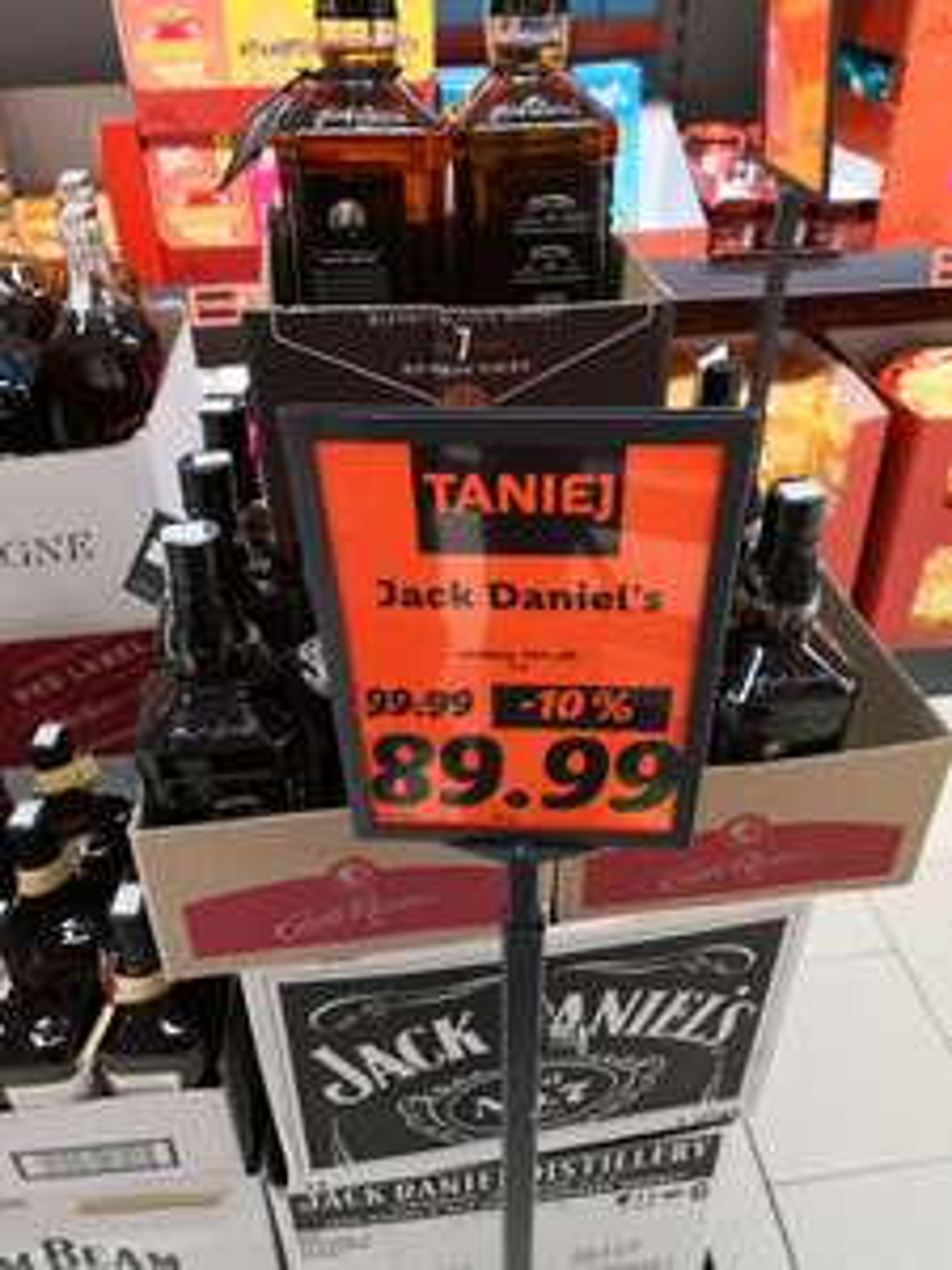Promocja na Jack Daniel's 1L w Lidl