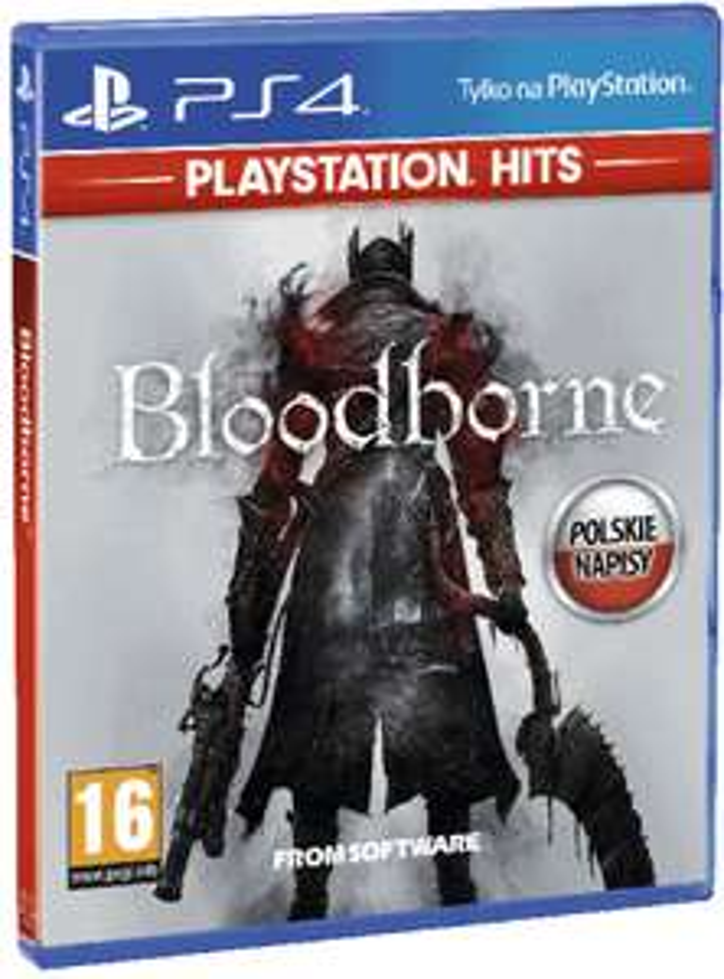 BLOODBORNE PS4 PL NOWA HIT + GRATIS