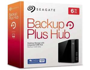Dysk HDD SEAGATE Backup Plus Hub 6TB