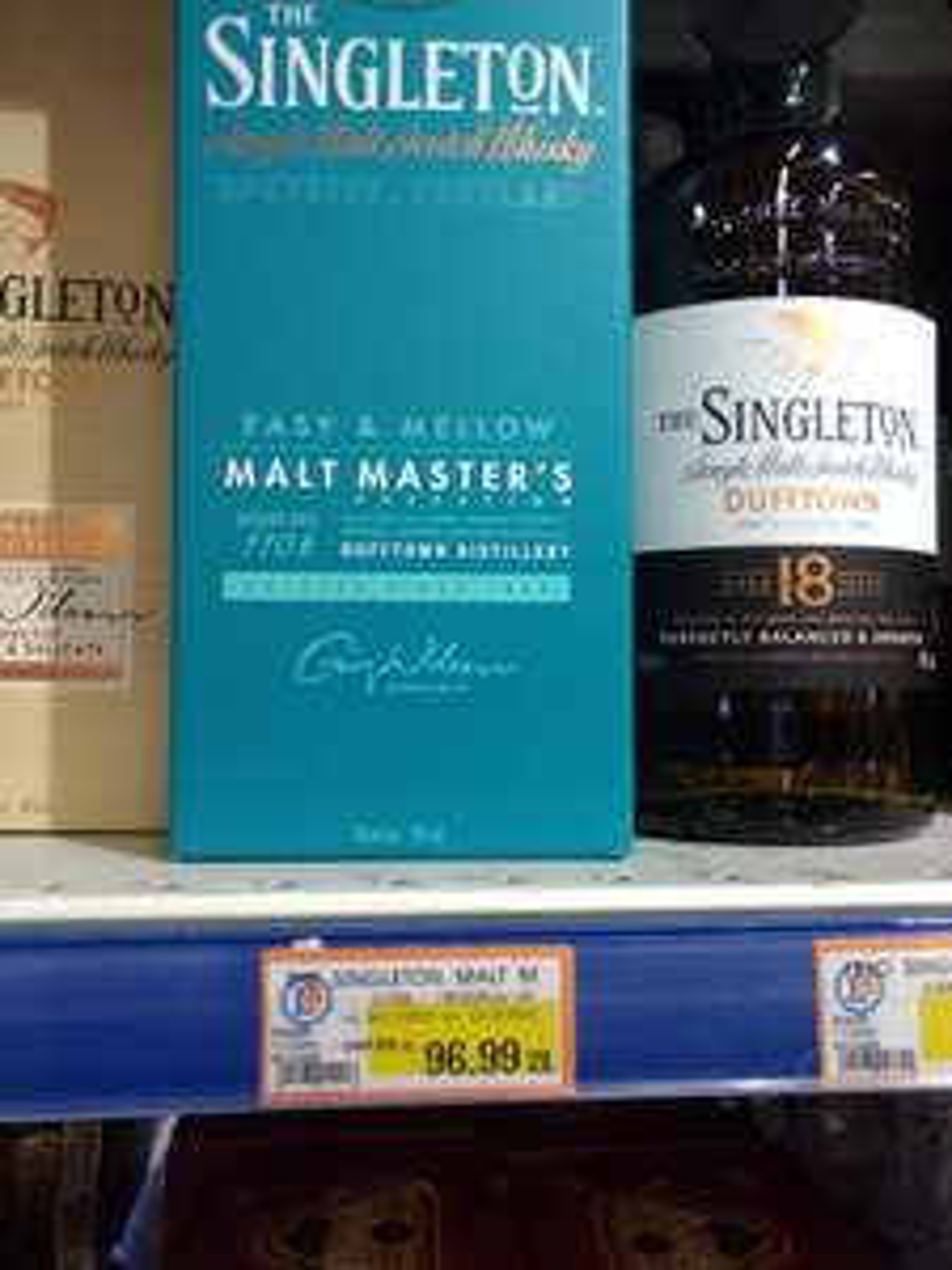 The Singelton Malt Masters Easy & Mellow i inne