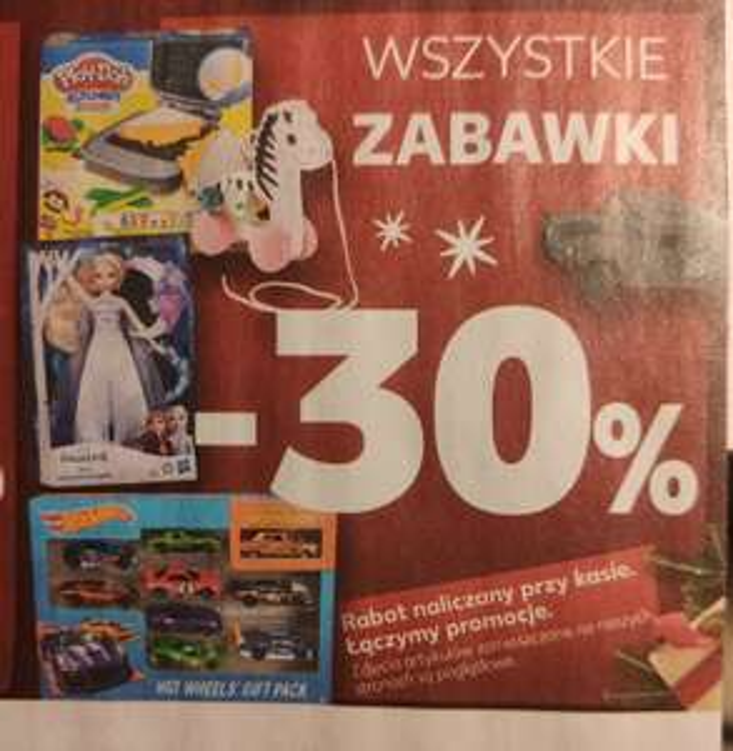 30% taniej wszystkie zabawki Kaufland tylko 5.12