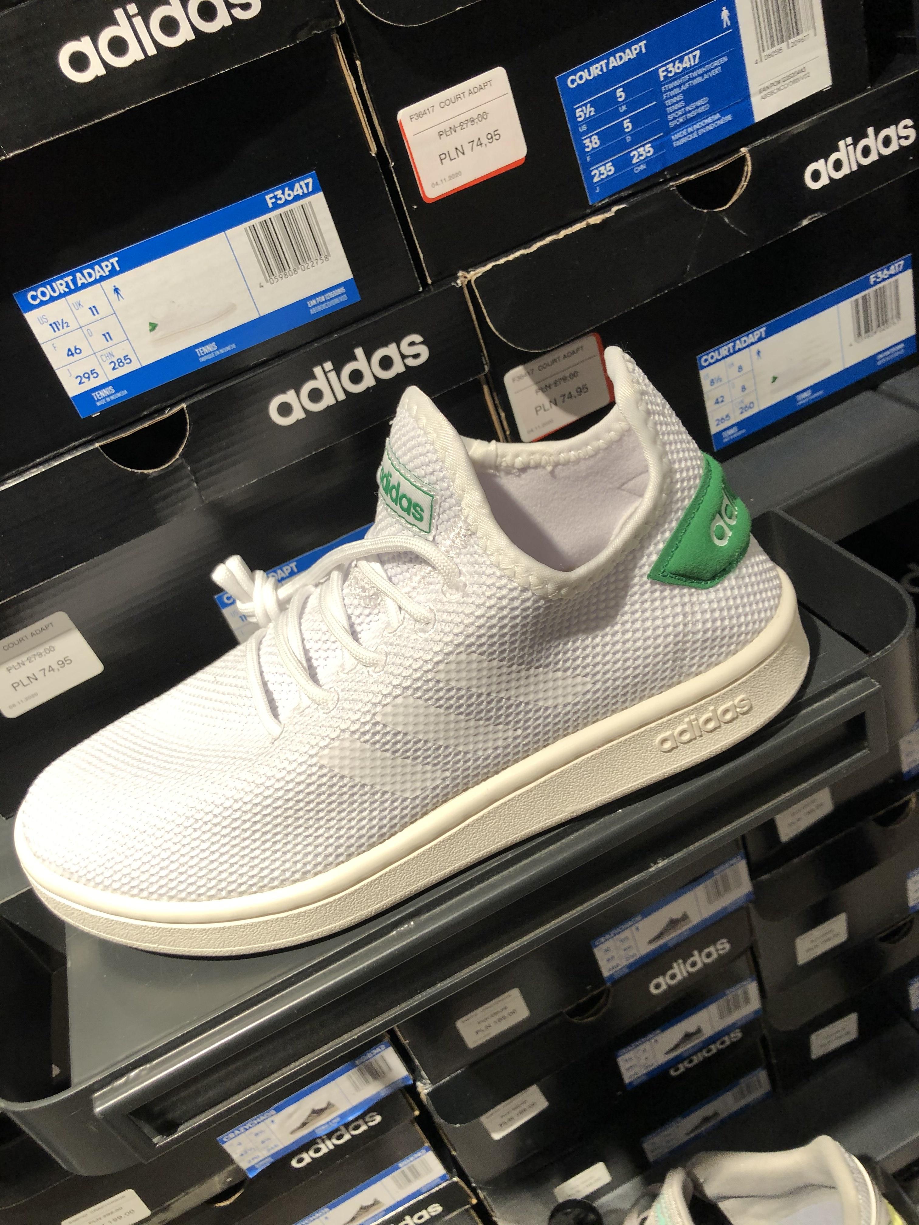 Buty Adidas Court Adapt - pełna rozmiarówka Factory Ursus