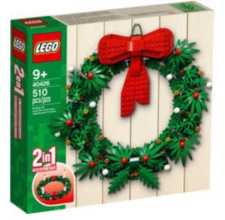 LEGO 40426 - Bożonarodzeniowy wieniec 2w1