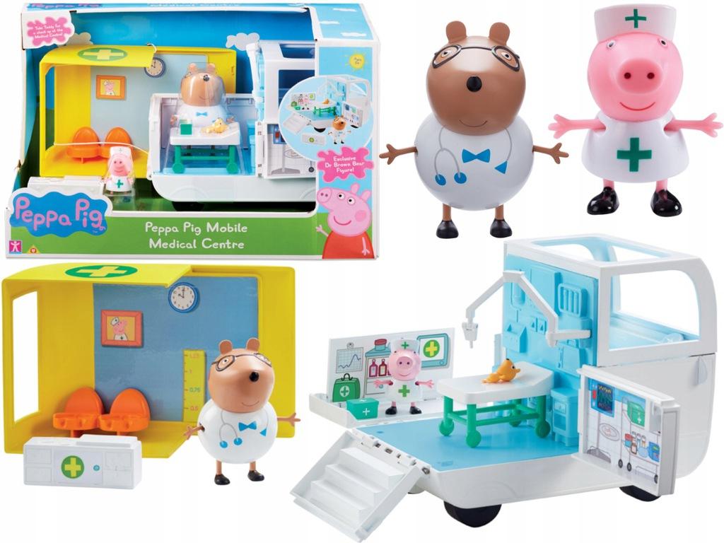 Świnka Peppa Mobilne Centrum Medyczne i 2 figurki TM Toys