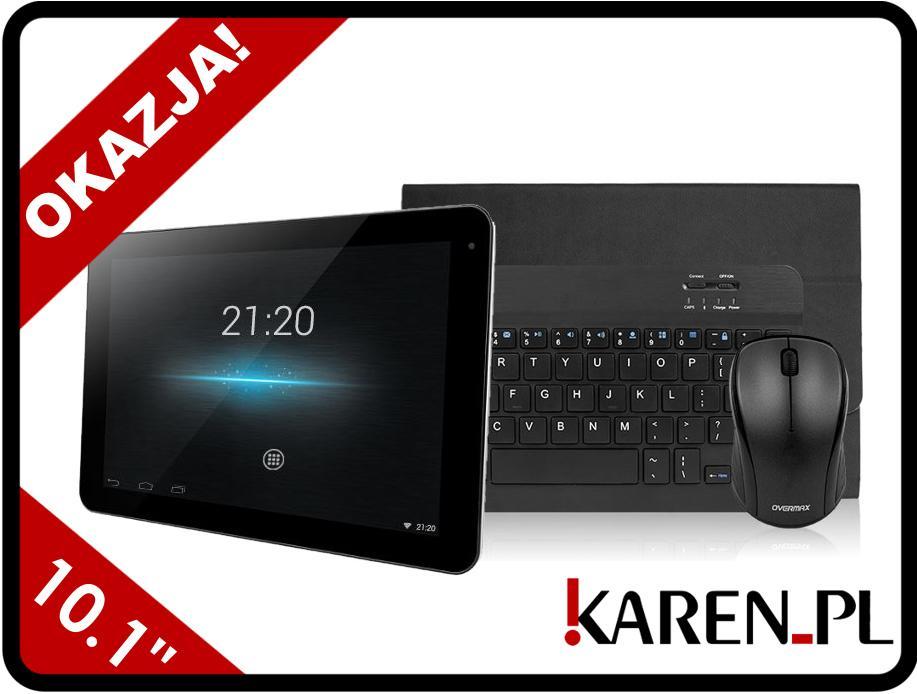 Tablet OVERMAX Steelcore 10 GEAR +KLAW +MYSZ +ETUI za 499zł @ Karen