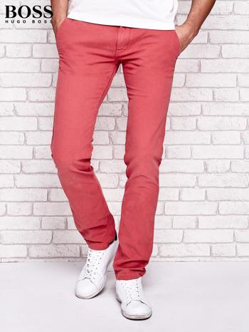 HUGO BOSS Fuksjowe spodnie męskie