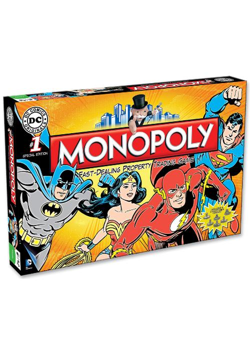 Monopoly: DC Universe ENG