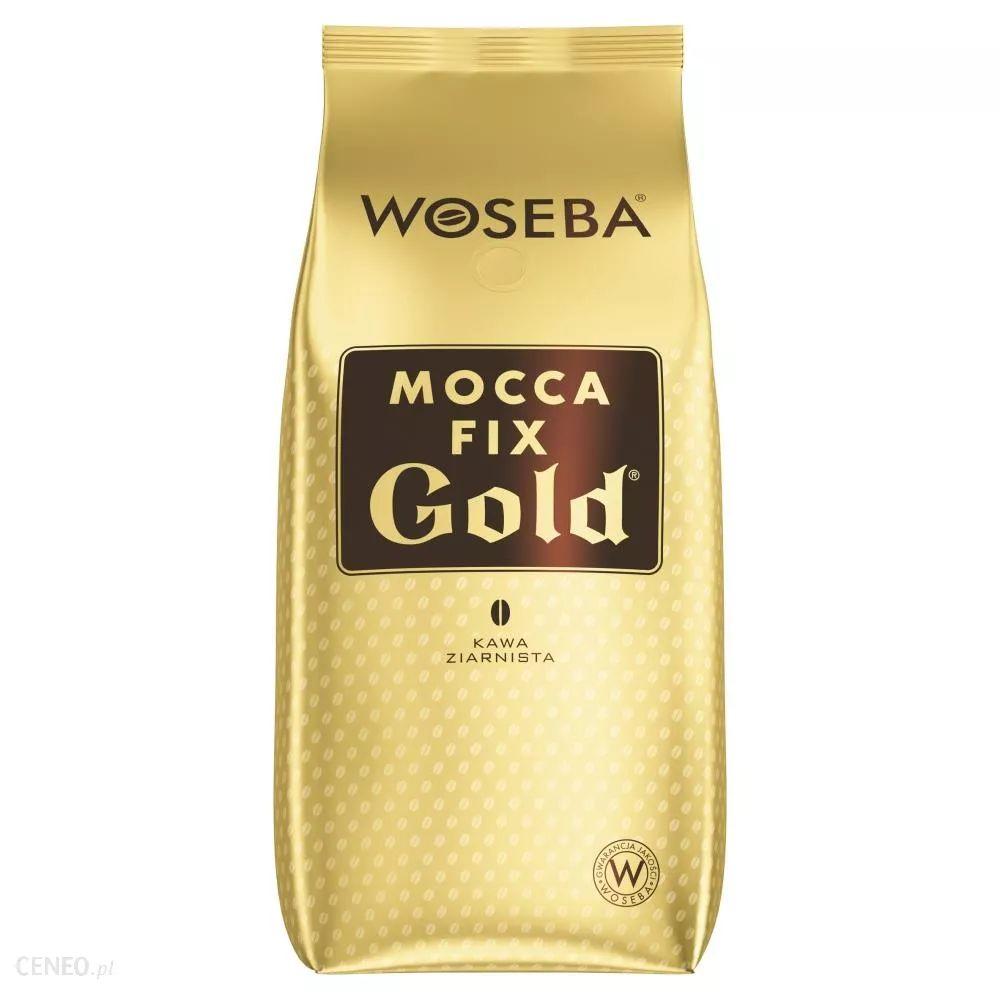 Kawa 1kg ziarnista Woseba Mocca Fix Gold