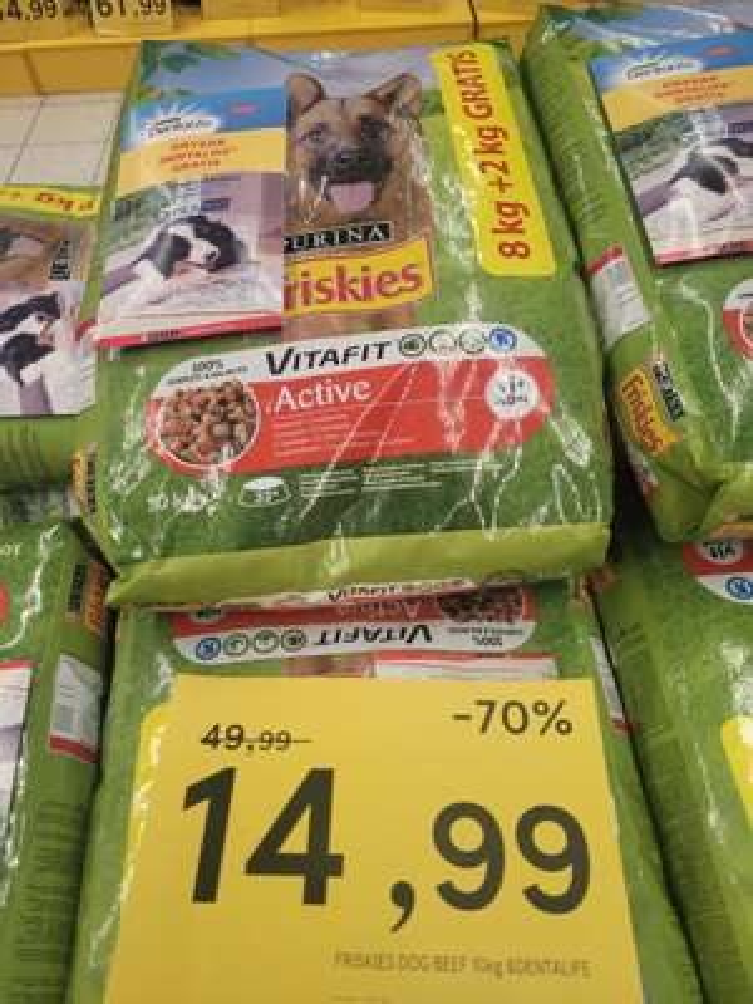 Friskies karma dla psa smak: wołowina 10 kg Tesco