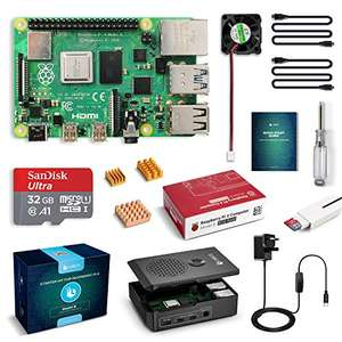 Labists Raspberry Pi 4 model B (4GB) Amazon.co.uk