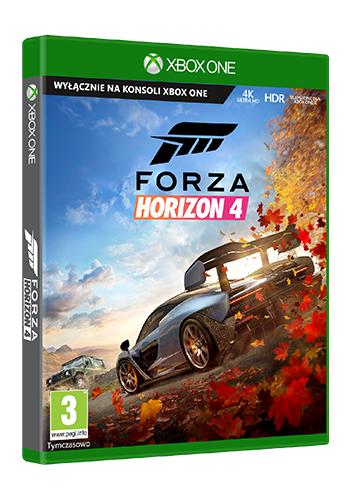 Forza Horizon 4 Xbox One (Zawiera darmowy upgrade do XBOX Series X)
