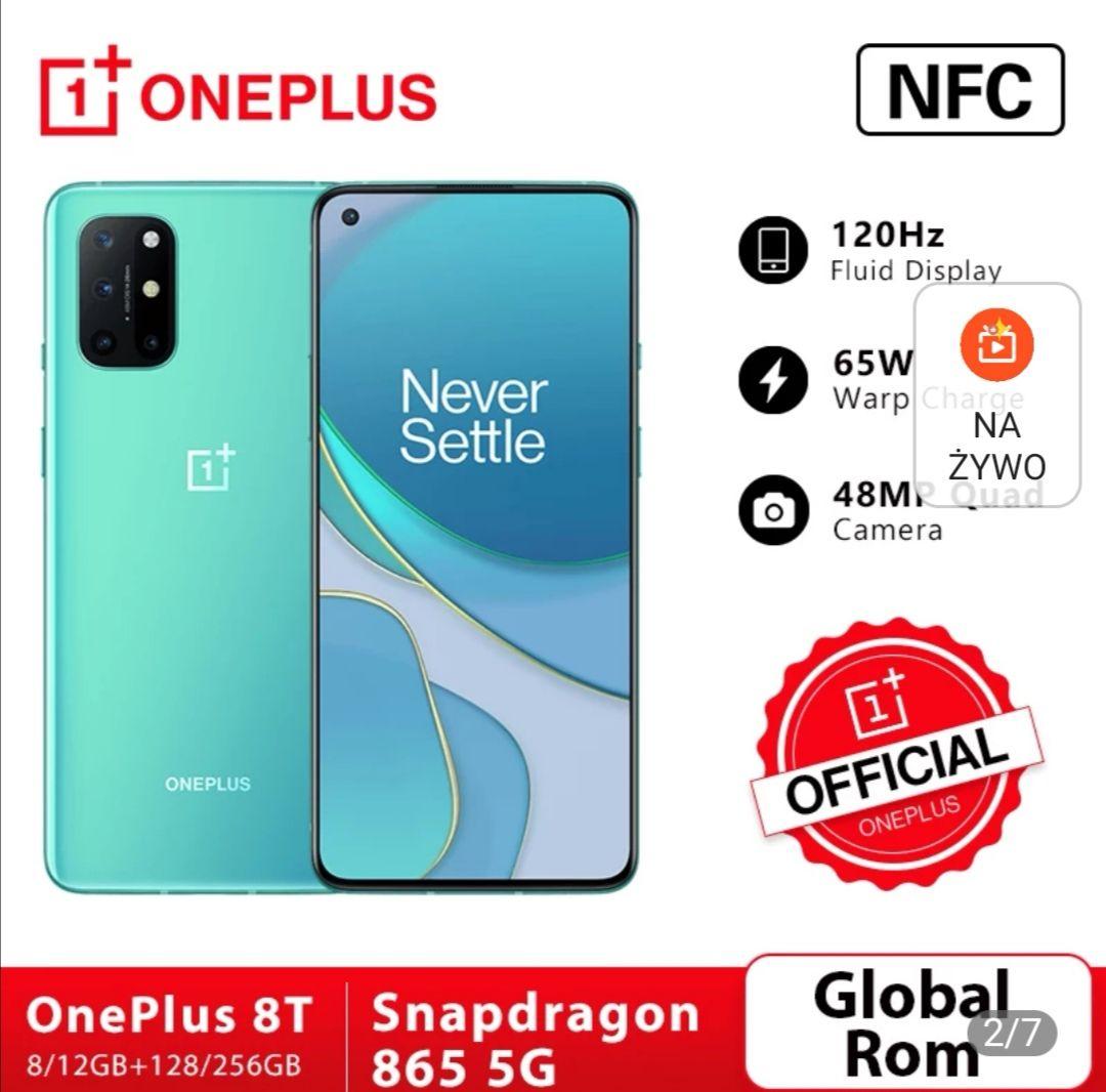 Smartfon OnePlus 8T 8/128 $580,96