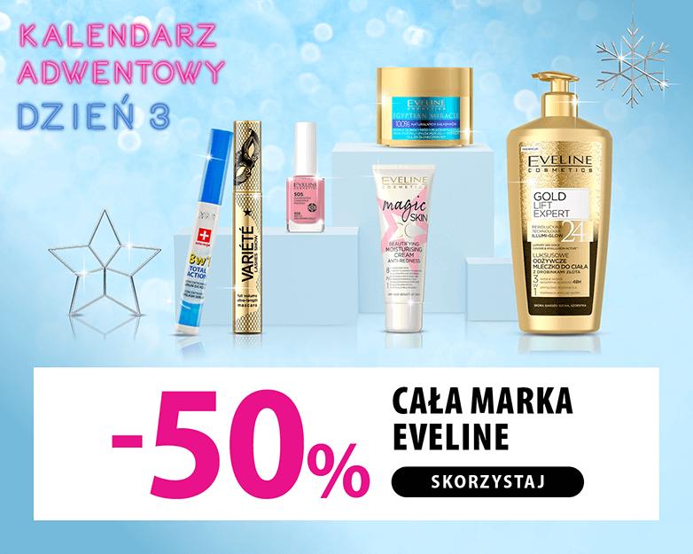 Cała marka Eveline -50%