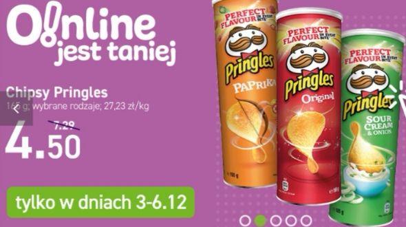Pringles Paprika, Sour Cream & Onion, Original Chrupki Chipsy 165 g MWZ 20 PLN