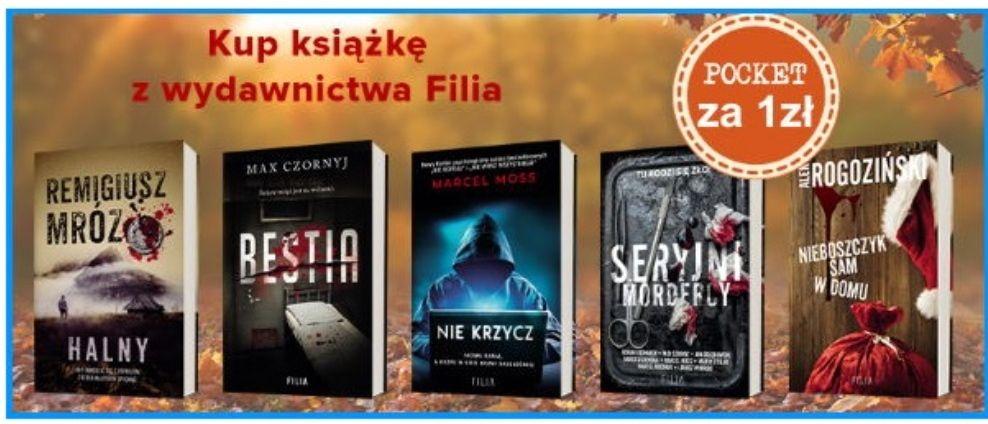 Dadada: pocket za 1 zł do książki wyd. Filia