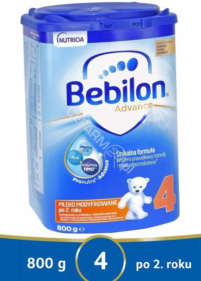 Mleko modyfikowane Bebilon Pronutra Advance 4 (800g) w HIT cenie