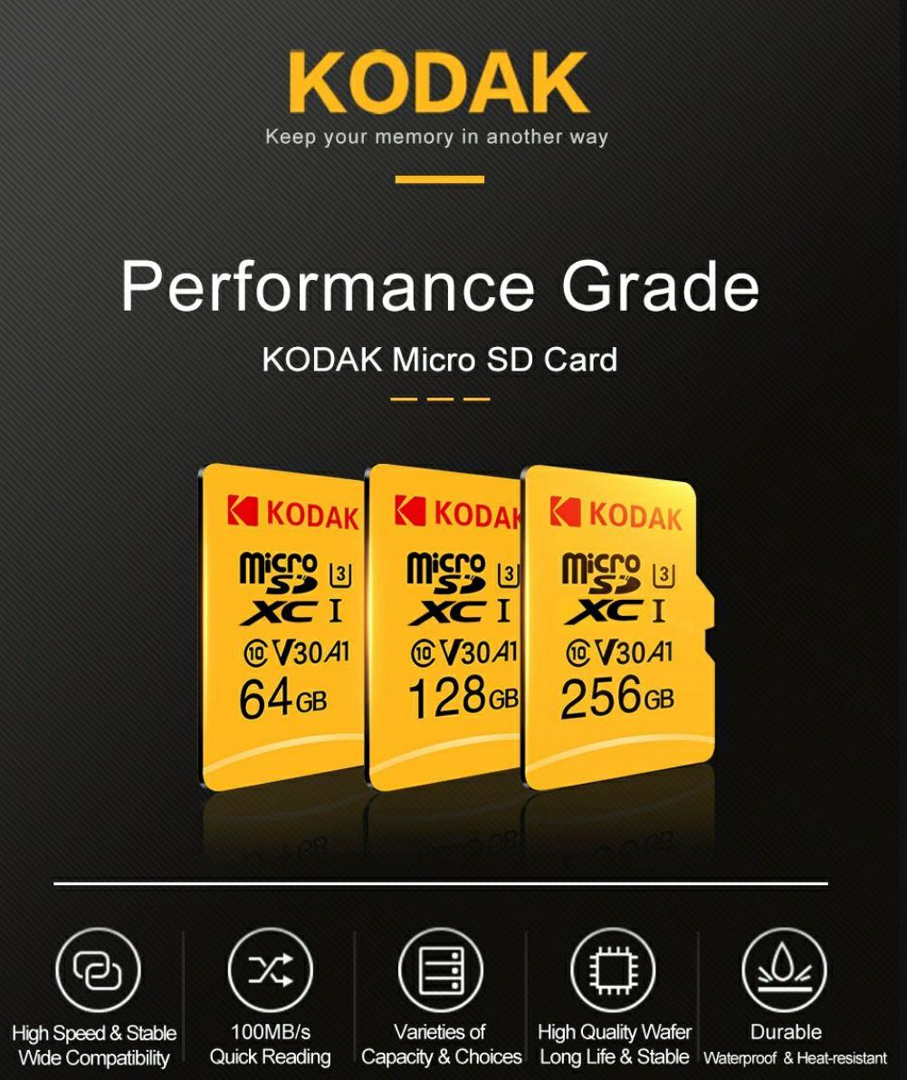 Karta pamięci KODAK Micro SD 64GB @Banggood