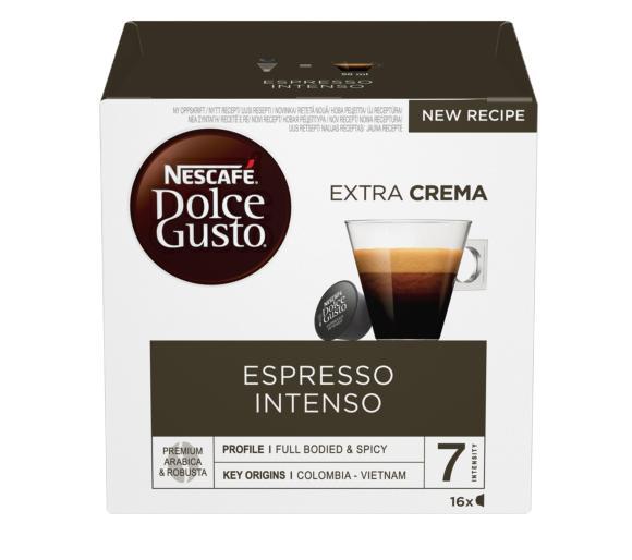 Promocja na kapsułki Nescafe Dolce Gusto różne smaki.